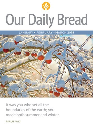 Our Daily Bread - January / February / March 2018 cover