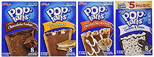 Pop Tarts Frosted Variety Pack, CHOCOLATE Flavors: S