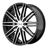 350z stock rims - Helo HE880 Gloss Black Wheel With Machined Face (20x8.5