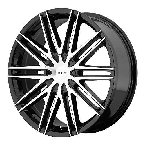 Helo HE880 Gloss Black Wheel With Machined Face (18x8