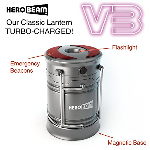 HeroBeam-V3-LED-Lantern-The-Ultimate-Collapsible-Tough-Lamp-for-Camping-Fishing-Car-Shop-and-Emergencies-Magnetic-Lantern-Flashlight-and-Beacon-in-One
