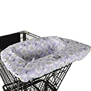 Balboa Baby Shopping Cart & High Chair Cover - Lavender Poppy