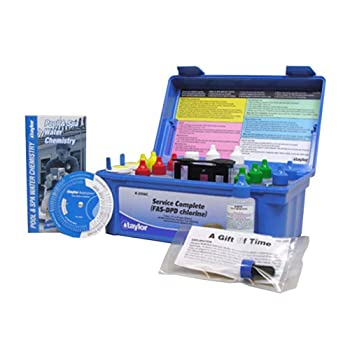 Taylor K-2006c Service Complete Pool Water Test Kit