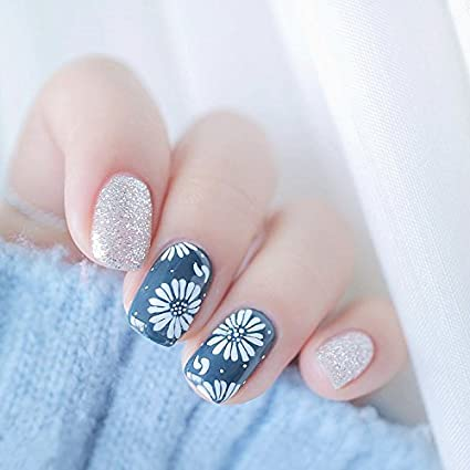 yunail verano 24PS Mori Niña Cherry Blossom Daisy Fresh Breeze uñas postizas uñas postizas de cabeza