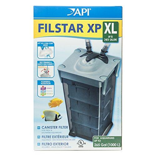 API XP FILSTAR XP FILTER SIZE XL Aquarium Canister Filter 1-Count Box from API