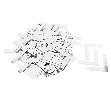 Amazon Com Baosity Wholesale 100 Pieces Metal L Shape Corner Brace
