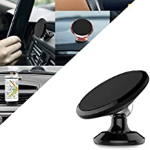 Magnetic Phone Car Mount,Universal 360° Rotation Car Dashboard Cell Phone Holder,Mobile Phone Holder GPS Dashboard Mount for iPhone 7 /6 plus Samsung Galaxy,Android Smartphone&Tablet