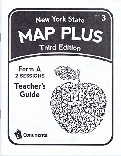 - Teacher's Guide for NEW YORK STATE MAP PLUS Third Edition Grade 3 Form A