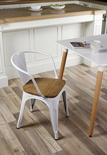 GIA Metal Dining Chairs Back product image