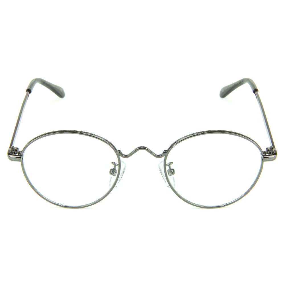lentes transparentes mejor sue/ño anti fatiga de ojos gafas de computadora Cyxus Bloquear Luz Azul gafas Marco Redondo Retro gafas sin grados Unisexo Hombres//Mujeres