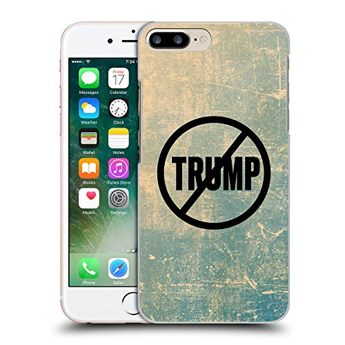 Super Galaxy Coque de Protection TPU Silicone Case pour // Q04110512 Jamais Trump grunge // Apple iPhone 7 PLUS
