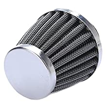 Etopars 38mm Mini Blue Universal Car Motor Cone Cold Clean Air Intake Filter Turbo Vent Vehicle
