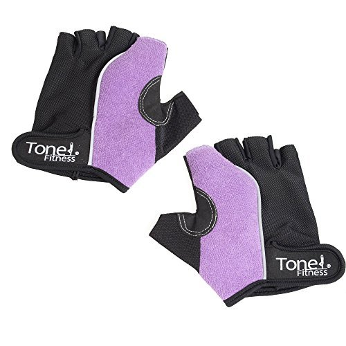 Tone Fitness HHWG-TN002S Tone Weightlifting Gloves-Small