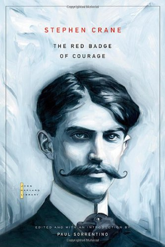 Book cover for The Red Badge of Courage