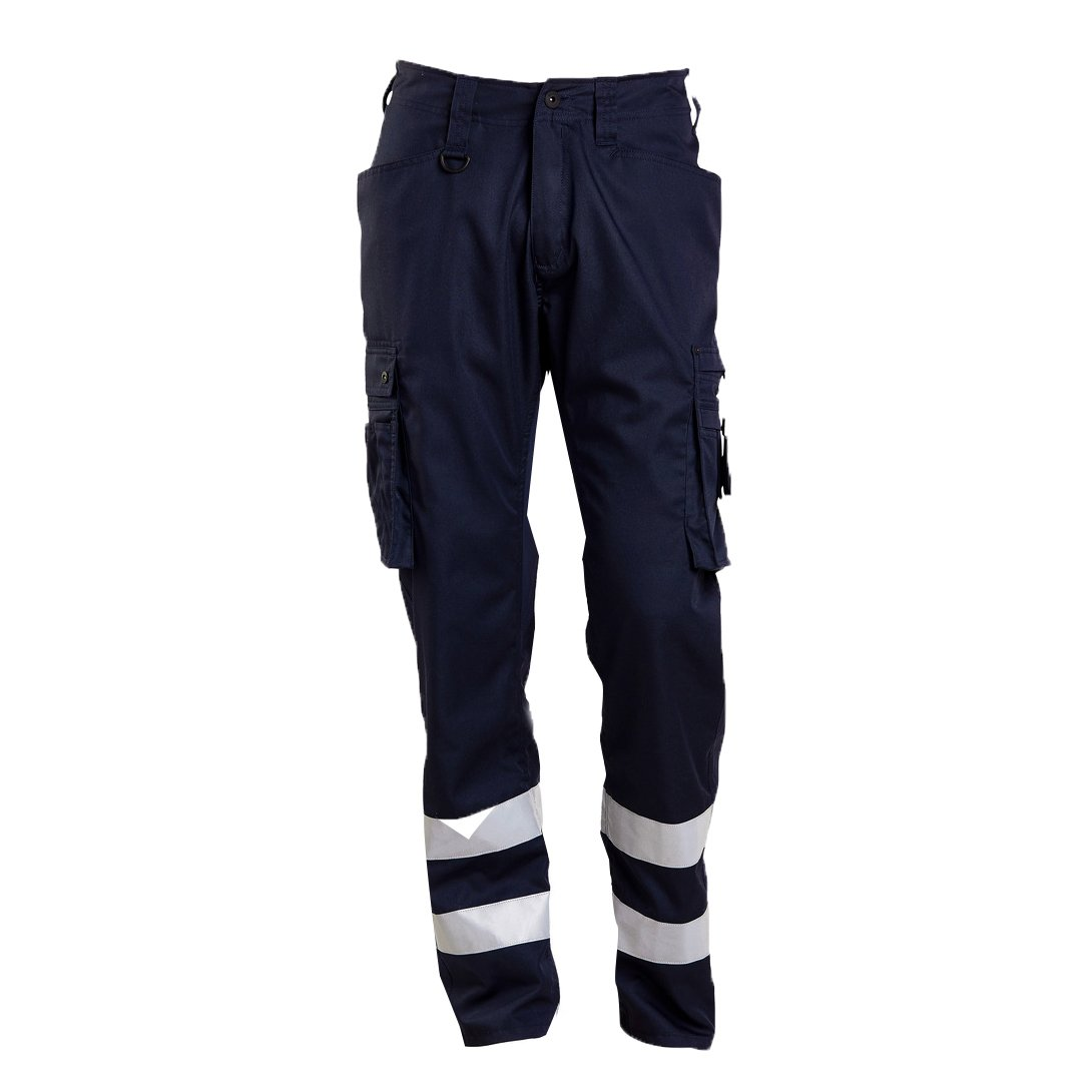 Mascot 17879-230-010-82C64 Service Trousers Safety Pants Black//Blue 82C64