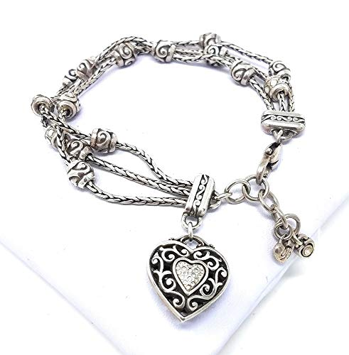 (Brighton Reno Heart Bracelet)