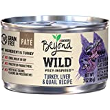 Purina Beyond Wild Prey-Inspired Turkey, Liver & Quail Recipe Adult Wet Cat Food - Twelve (12) 3 oz. Cans