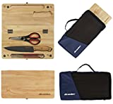 Wealers Kitchen Cutting Board Chopping Knife and