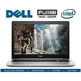 2018 Flagship Dell Inspiron Laptop, FHD IPS 15.6 Touchscreen, Intel Quad-Core i5-8250U (Beat i7-7500U), 16GB DDR4, 1TB HDD, DVDRW, Backlit Keyboard, WIFI, Bluetooth, Webcam, Windows 10