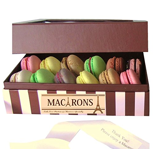 Leilalove Macarons Assortment in Keepsake Box