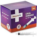 3ml Syringe - 100 Pack – Luer Slip Tip, No