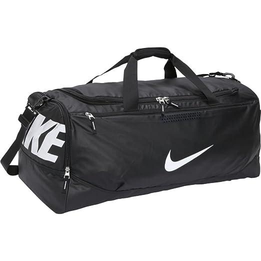 Amazon.com  Nike Nike Team Training Max Air XL Duffel (Black Black ... b83d8a3678