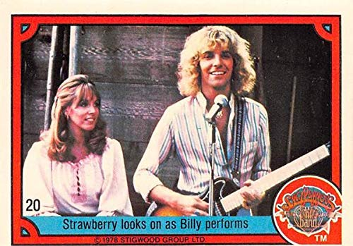 Peter Frampton Sandy Farina trading card Sgt Peppers Lonely Heart band 1978 Donruss #20 Strawberry Fields Billy Shears