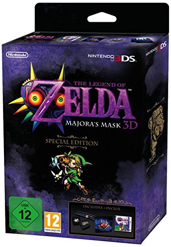 The Legend of Zelda: Majora's Mask 3D Special Edition [PAL Version / UK] by Nintendo