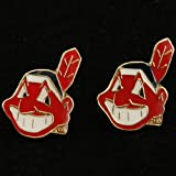 MLB Cleveland Indians Team Logo Post Earrings