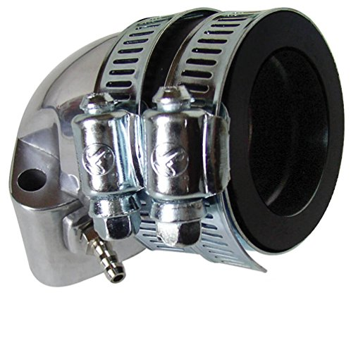 NCY Polished Intake Manifold (NON-EGR_ 28mm); QMI_ QMJ_ GY6 Egr Polished Manifold
