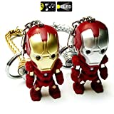 FASHION ALICE 2pcs Hot Movie Iron Man, 2.4