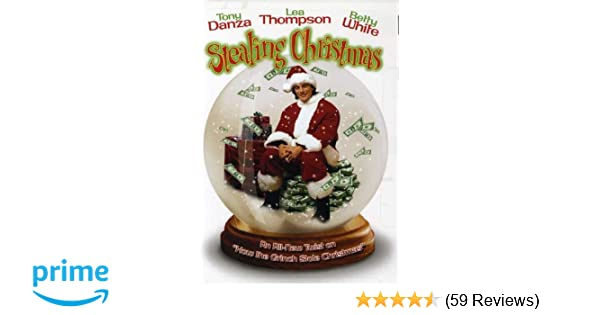 amazoncom stealing christmas tony danza lea thompson betty white angela goethals gregg champion oscar l costco lloyd lucky gold greg taylor - Stealing Christmas