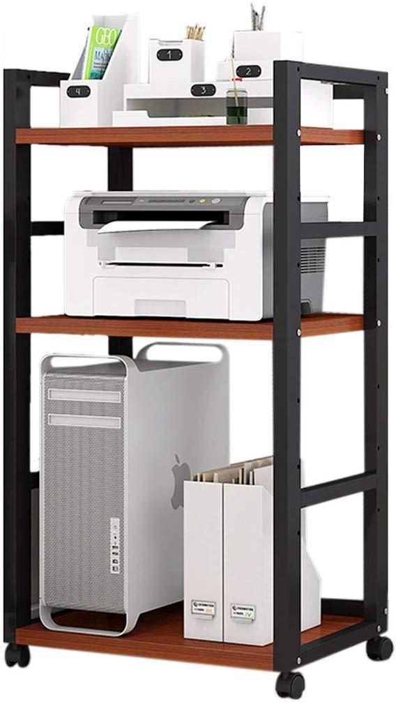 AZWE Impresora Soportes de escritorio Estante de impresora ...