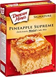 Duncan Hines Signature Pineapple Supreme Cake Mix (4 Pack)