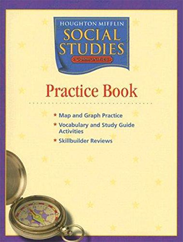 Houghton Mifflin Social Studies: Practice Book Level 3