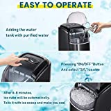 Kismile Counter top Ice Maker Machine with