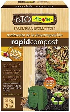 Flowe - Acelerador de la descomposición, Compost Orgánico, 2 kg: Amazon.es: Jardín