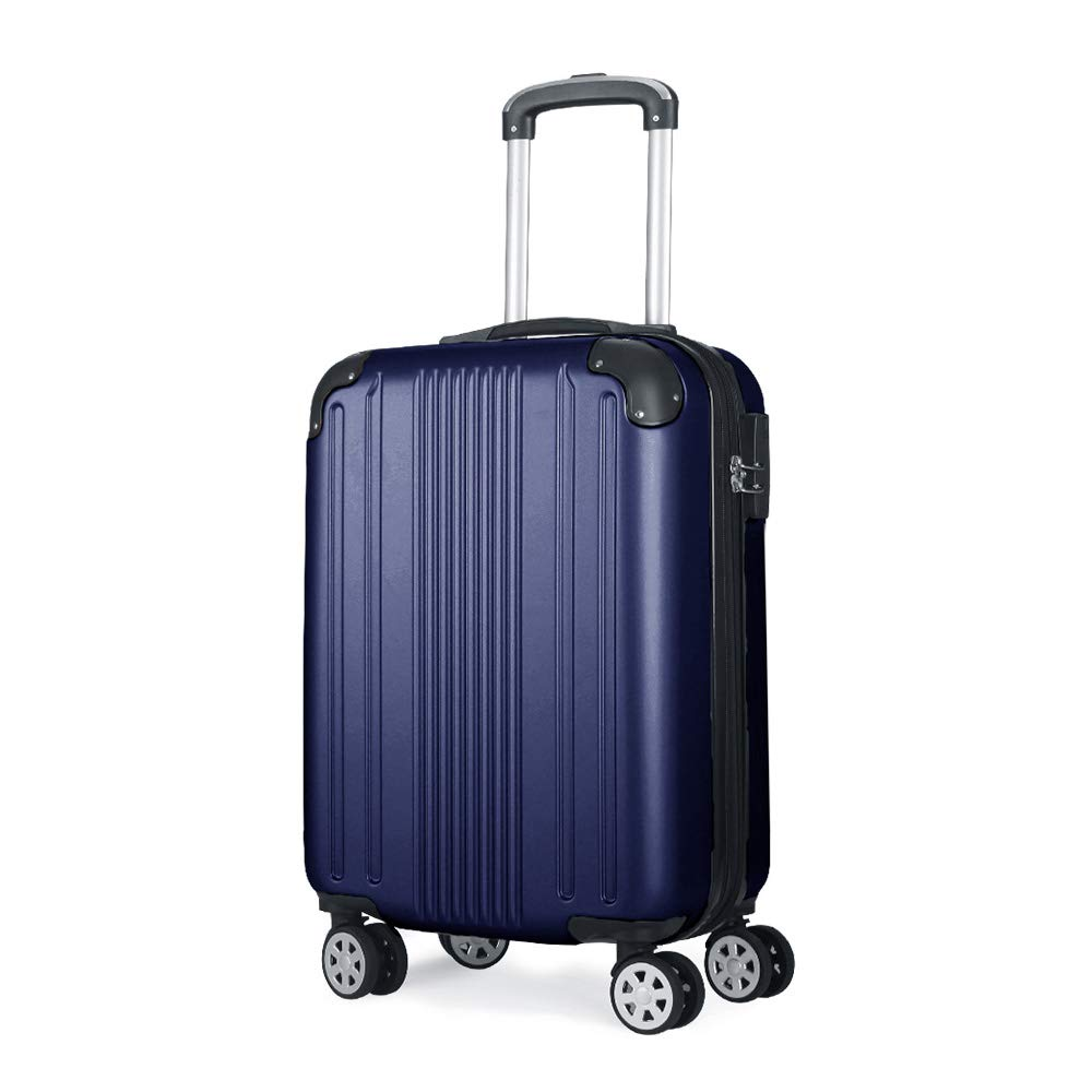 86a472678ea0 Fochier Carry on Luggage Lightweight Expandable Spinner Suitcase ...