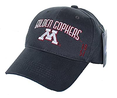 New! Minnesota Golden Gophers Adjustable Back Hat Embroidered Cap by NCAA Signatures