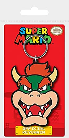 Amazon.com: Pyramid Intl – Porte Cle Super Mario – Bowser ...