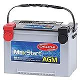 2000 Workhorse FasTrack FT1260 Batteries - Delphi BU9078 MaxStart AGM Premium Automotive Battery, Group Size 78