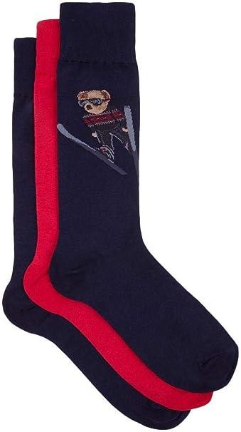 Polo Ralph Lauren Calcetines Bear Ski Hombre UNICA varios ...