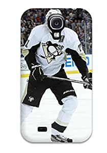 For Galaxy S4 Tpu Phone Case Cover(pittsburgh Penguins (104) )