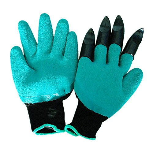 Garden Genie Gloves with Fingertips Right Claws As Seen On TV 1 Pair
