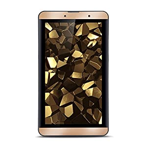 iBall Slide Snap 4G2 Tablet (7 inch, 16GB, Wi-Fi+ LTE+ Voice Calling), Biscuit Gold