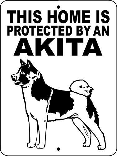 - Dozili Metal Sign Akita Dog Sign Aluminum Guard Dog Sign Akita Dog Decal Dog Sign Thakita