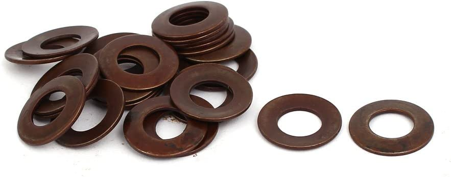 uxcell 16mm Outer Dia 8.2mm Inner Dia 0.9mm Thickness Belleville Spring Washer 25pcs