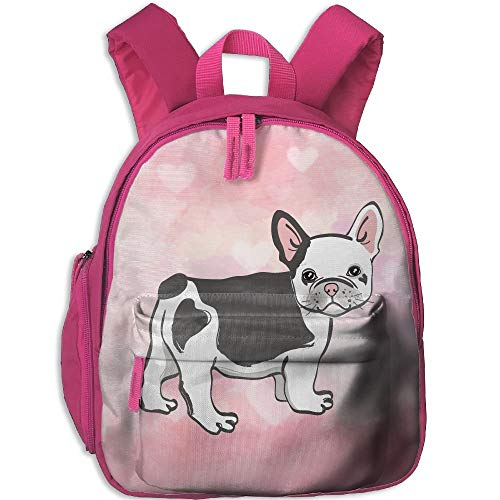 Kindergarten Backpack Cute Funny Boston Terrier Children School -