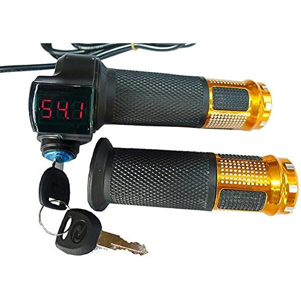 24V/36V/48V bicicleta eléctrica acelerador agarre Scooter ...