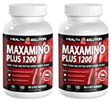 L lysine l arginine l carnitine – MAXAMINO PLUS 1200 – increase energy (2 Bottles)